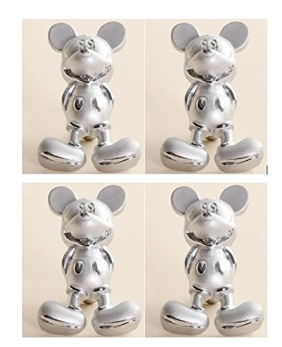Good Disney Discovery  4 Mickey Mouse Drawer Pulls