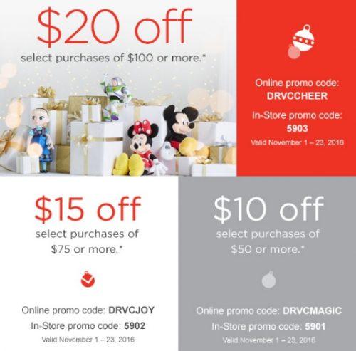 disney-store-sale-codes
