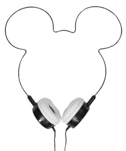 Mickey Mouse headphones black