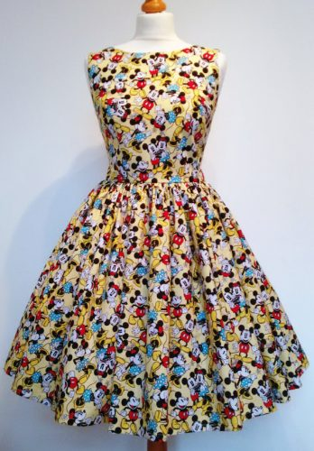 Mickey and Minnie Mouse dress 1