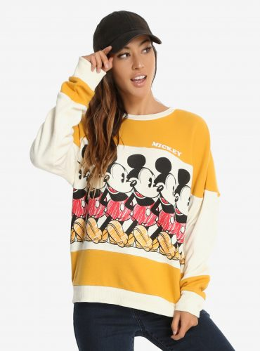 This Throw Back Mickey Mouse Sweatshirt is Fabulous