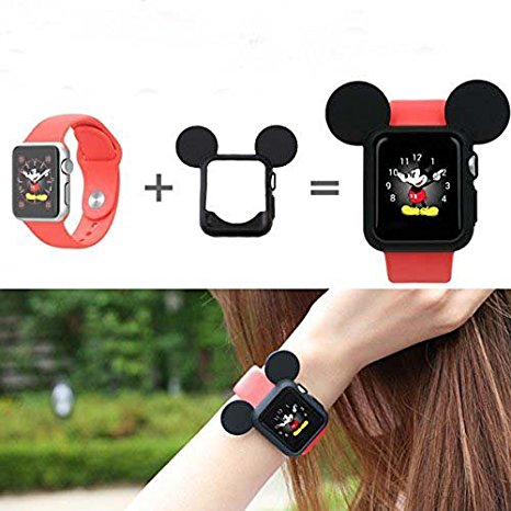 timeless design c3c96 f0df1 Disney Discovery- Mickey Mouse Ear Apple Watch Case Cover