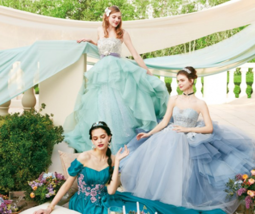 Gorgeous Disney Formal Collection from Japan
