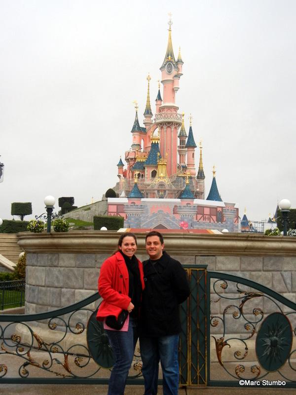 Euro Disney Honeymoon