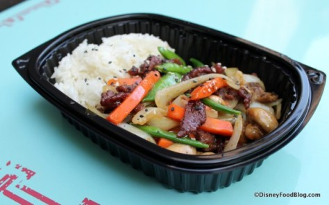 Image result for yak & yeti disney beef bowl