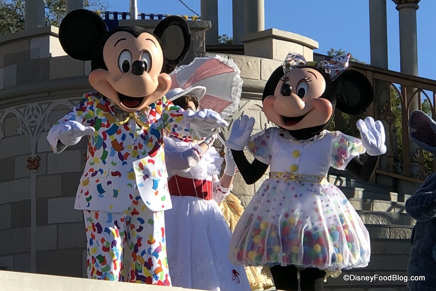 Here S What You Need To Know About Mickey And Minnie S Surprise Celebration In Disney World S Magic Kingdom The Disney Food Blog