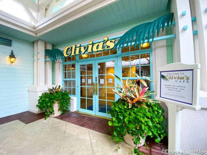 2020 WDW Disneys Old Key West Resort Olivias Cafe Menu 1