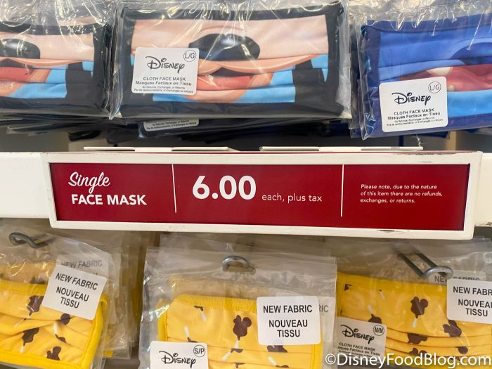 2020 disneyland resort downtown disney face mask still 6