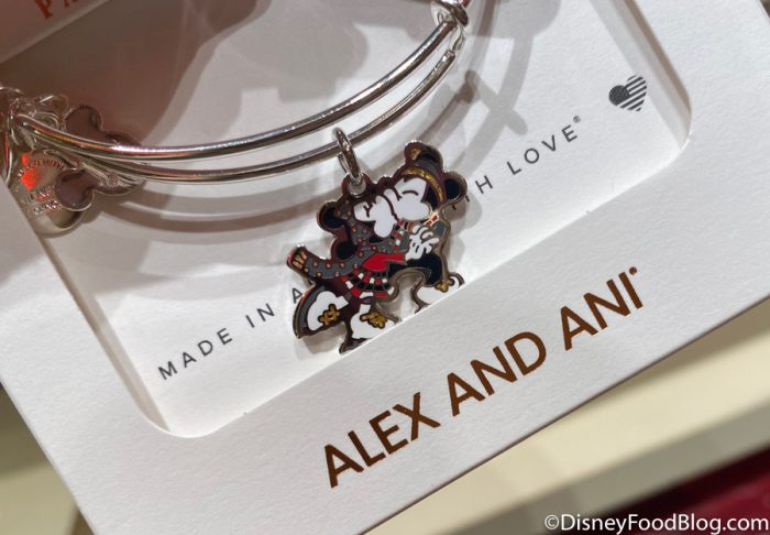 Disneyland 2020 World of Disney Alex and Ani Mickey Minnie Christmas Charm Bracelet