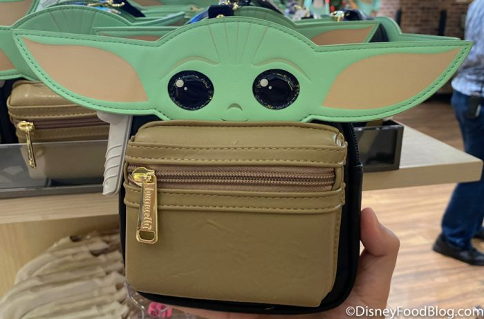Disneyland 2020 World of Disney Baby Yoda Loungefly Mini Backpack