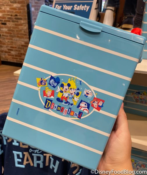 Disneyland 2020 World of Disney Retro Popcorn Box Shopping Event