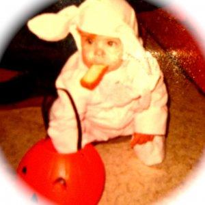 Heather 1st Halloween