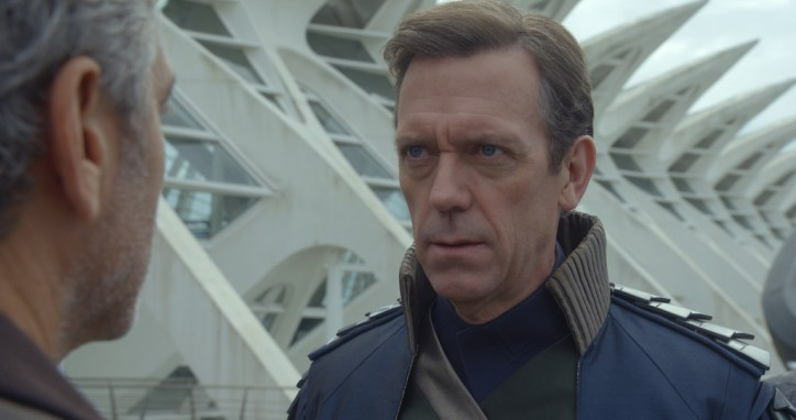 Disney's TOMORROWLANDDavid Nix (Hugh Laurie) Ph: Film Frame©Disney 2015
