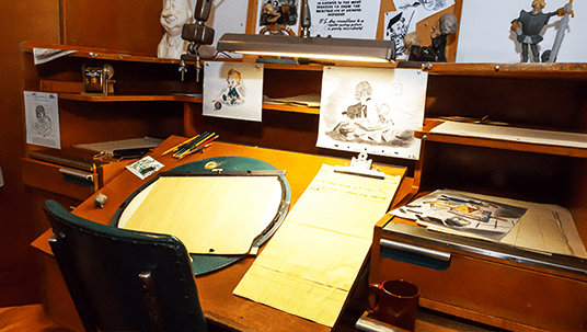 Animator Desk Disney Archives