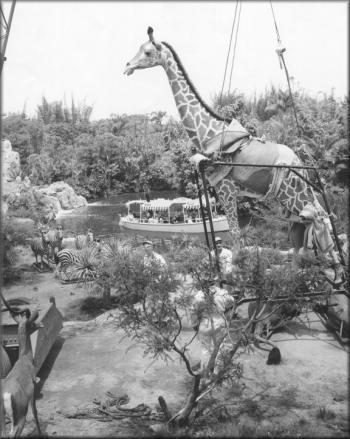 Disneyland 1955 Adventureland