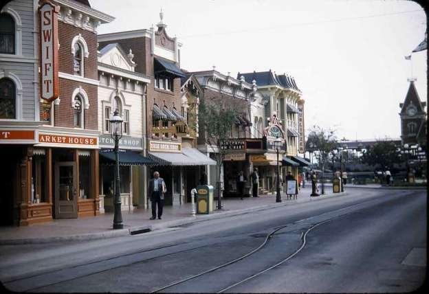 Disneyland 1955 Main Street