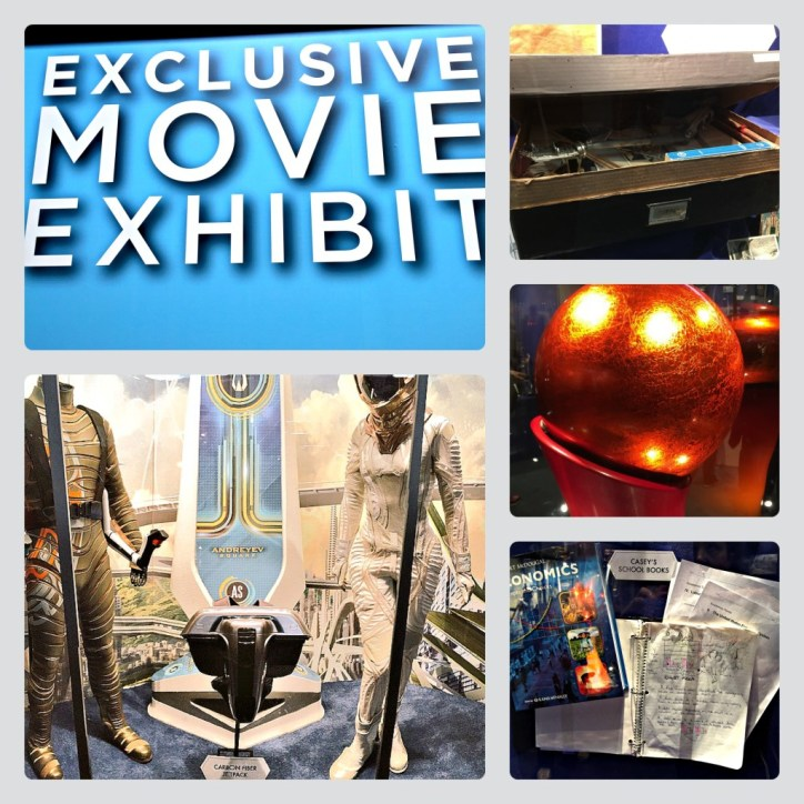 Tomorrowland Movie Exhibit