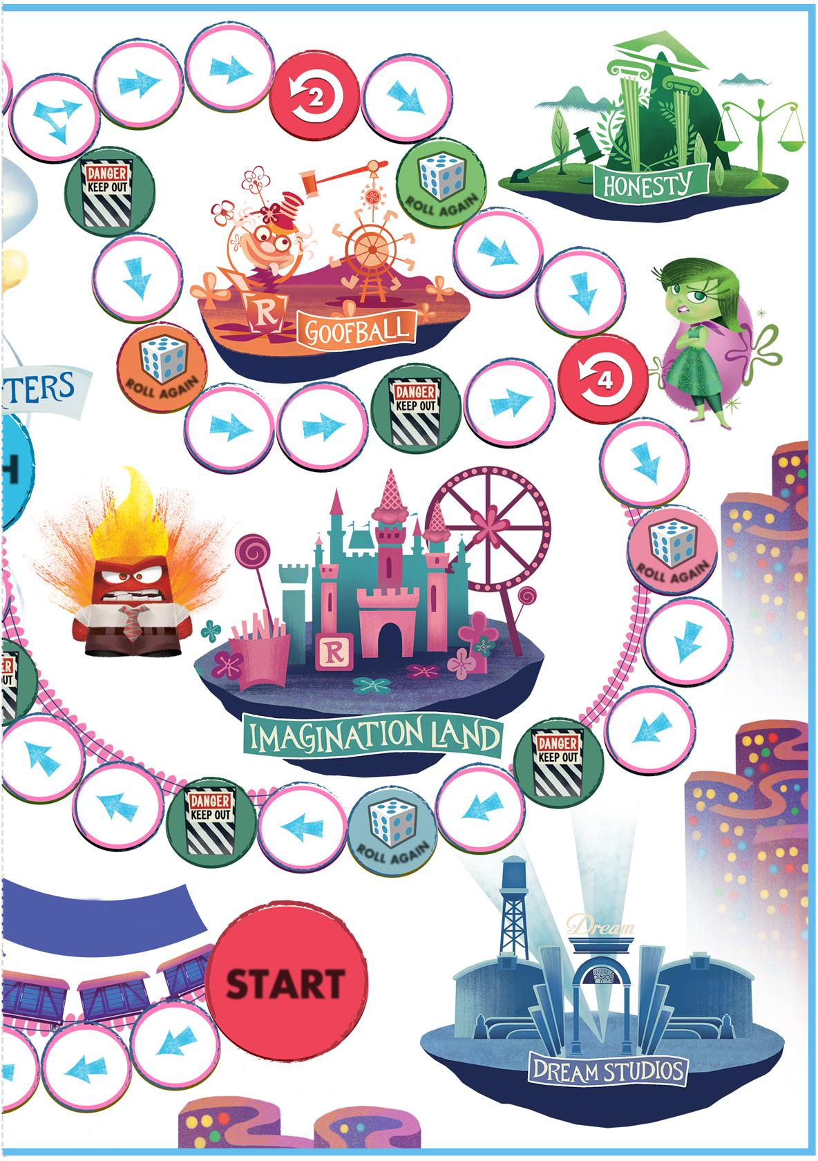 Free Insideout Nail Art Crafts Amp Board Game To Make