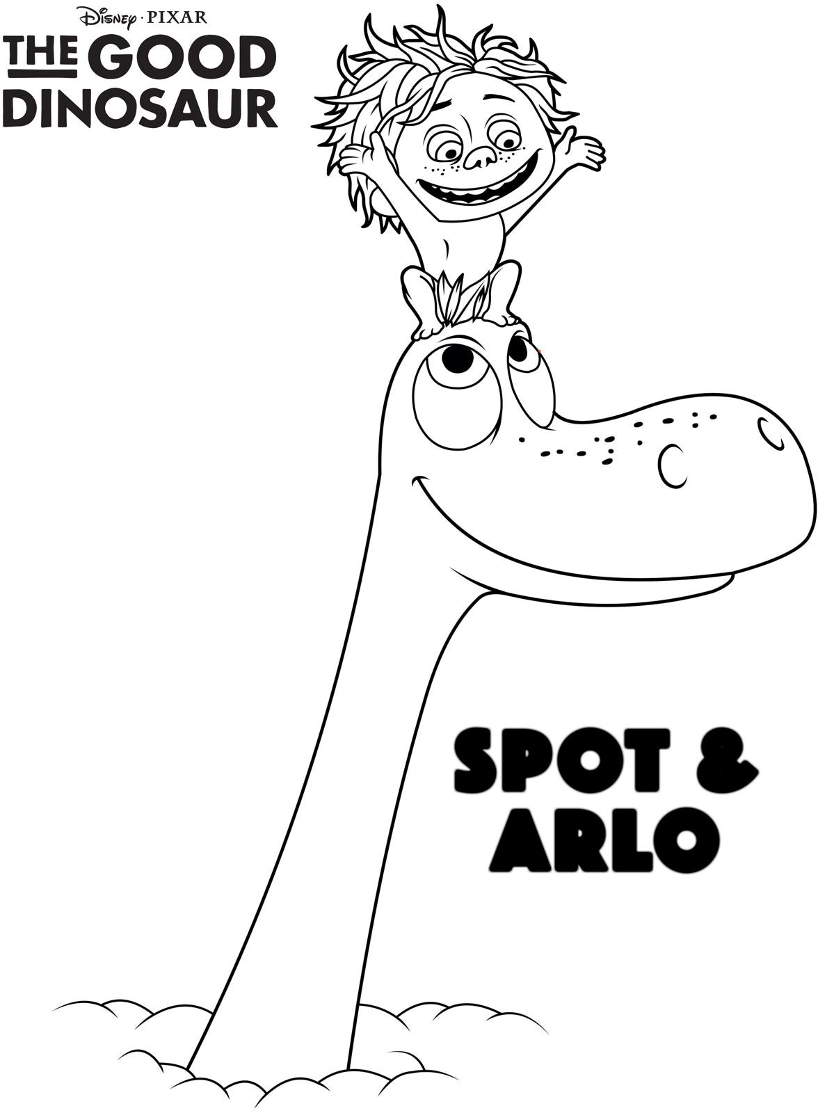 Free The Good Dinosaur Coloring Pages, Download Free Clip Art ... | 1600x1176