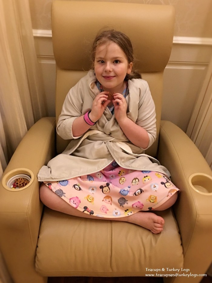 Waiting are at Senses -A Disney Spa at Disney's Grand Floridian Resort