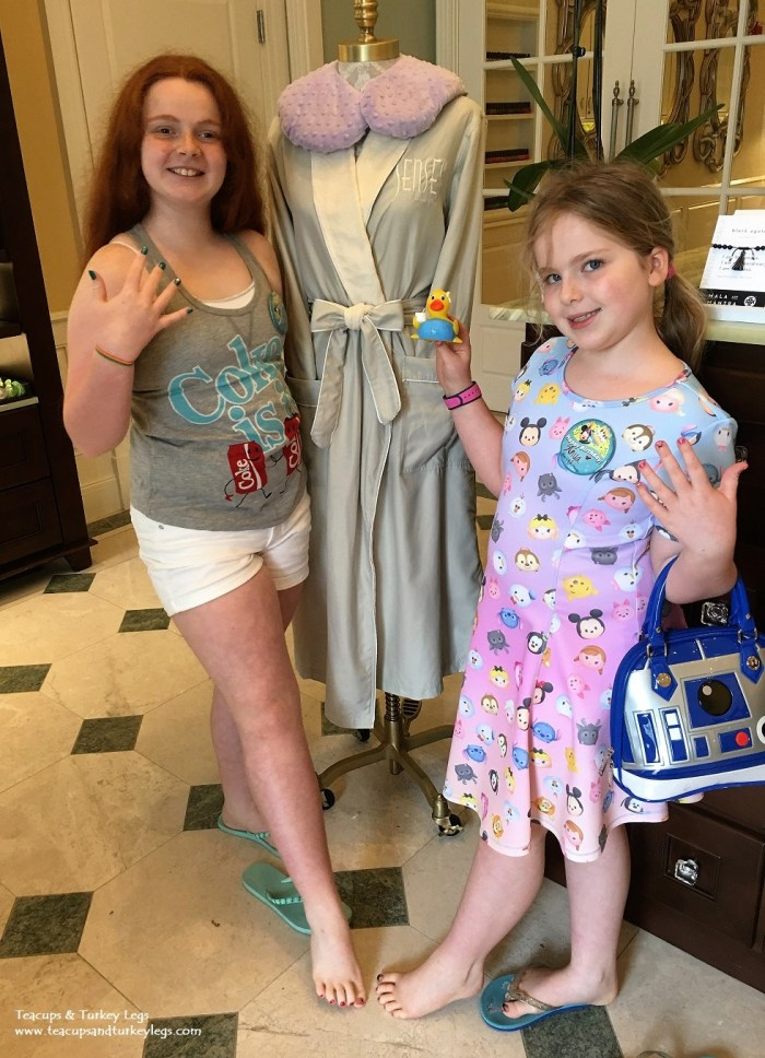 The end of a magical day at Senses - A Disney Spa at Disney's Grand Floridian Resort & Spa