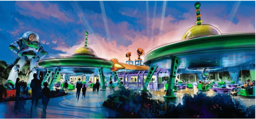 Toy Story Land Disney Hollywood Studios