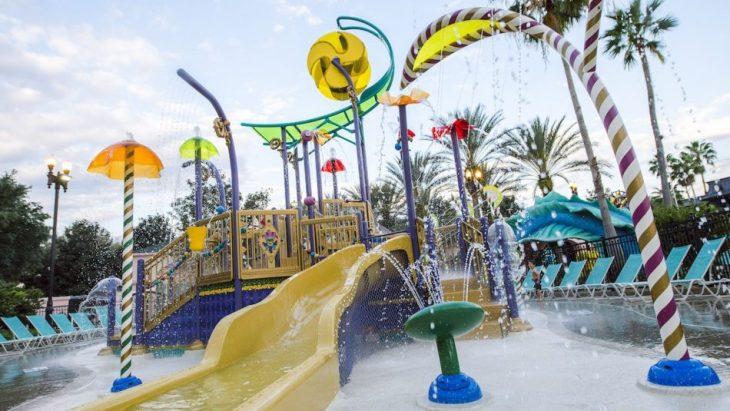 Disney's Port Orleans Riverside Resort French Quarter Pool