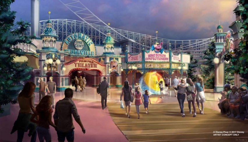 Disney California Adventure Park Pixar Pier