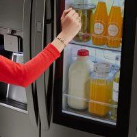 Knock Knock-Who's There? The LG InstaView™ Door-in-Door® Refrigerator @LGUS @BestBuy #ad
