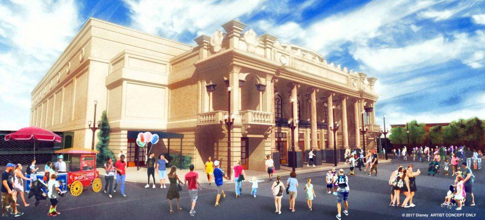 Willis Wood Theater Magic Kingdom Walt Disney World