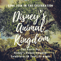Party For The Planet- This Earth Day Come Join In Disney's Animal Kingdom 20th Anniversary Celebration