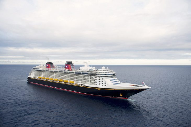 Disney Cruise Line At Sea