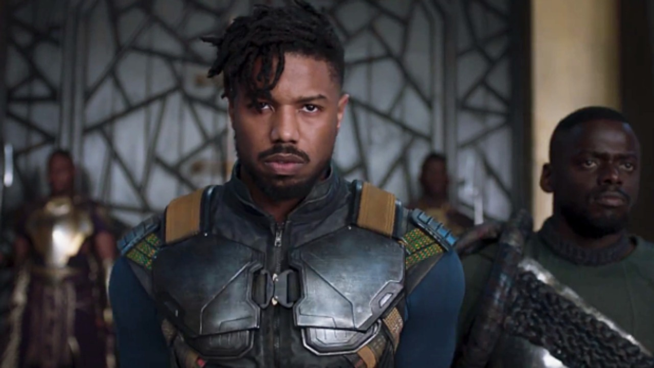 Black Panther MICHAEL B. JORDAN [ERIK KILLMONGER]