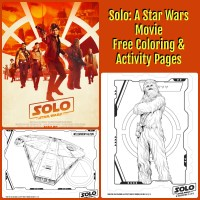 Celebrate Star Wars Day In Style With FREE Coloring & Activity Pages- May (the) 4th Be With You