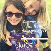 Hailey And Lyssie Show You How To Make Summertime Fun With Goliath Games