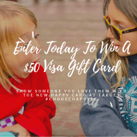 Make Someone Smile With The Happy Card + Enter Today To WIN A $50 VISA Gift Card #ChooseHappyGC #ad