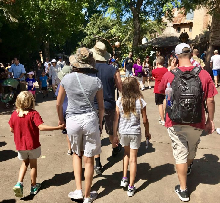 Disneyland Resort Disney California Adventure Park Grandma and Me Family Trip Disneyland Hotel -