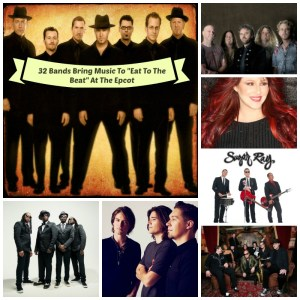 """32 """"Eat To The Beat Bands"""" Ready To Rock You At The 23rd Annual Epcot International Food And Wine Festival"""