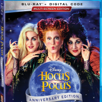 """It'll Put A Spell On You- The """"Hocus Pocus"""" 25th Anniversary Edition Appears on Digital and Blu-ray Sept. 2"""
