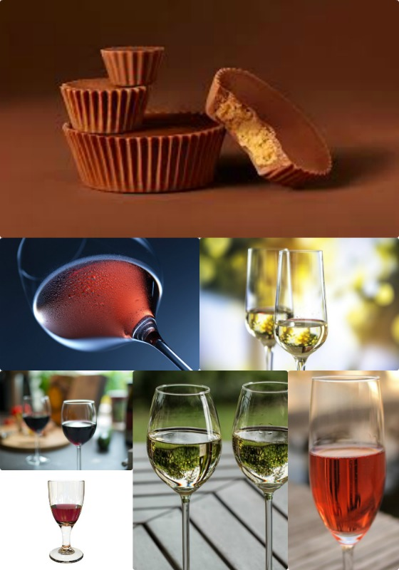 Reese's Peanut Butter Cup and Wine Pairing