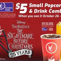 Regal Cinema Nightmare Before Christmas