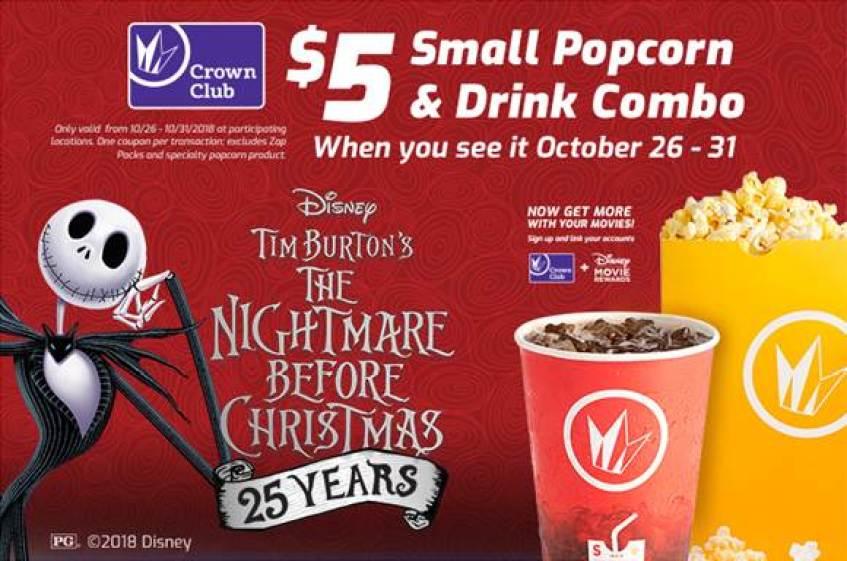 Regal Cinema Nightmare Before Christmas