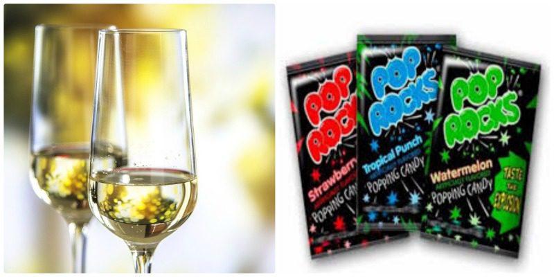 Wine Halloween Candy Pairings Bubbly PopRocks