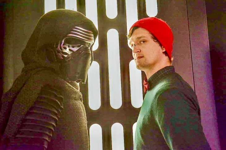 Kylo Ren Launch Bay Star Wars Character meet and greet