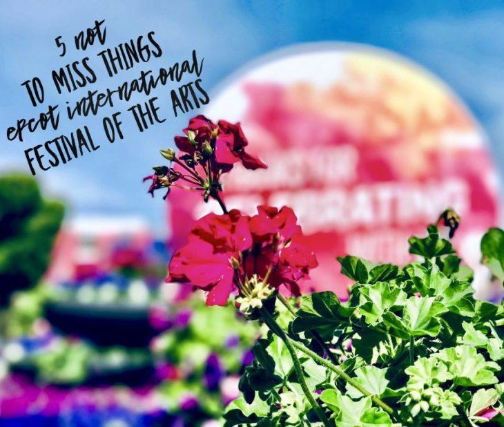 Epcot International Festival of the Arts Walt Disney World