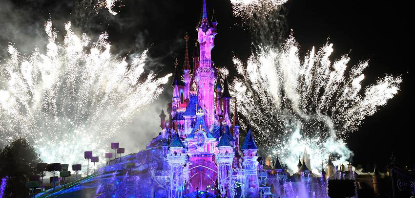 Disneyland Paris New Year s Eve Party   Disneyland     Paris The fireworks over Sleeping Beauty Castle will make for an extraordinary  ending to your evening
