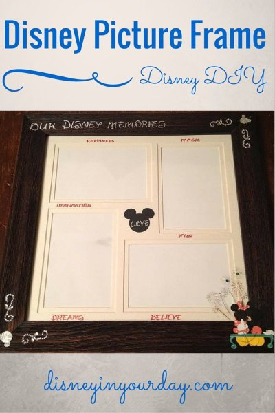 Disney picture frame - Disney in your Day