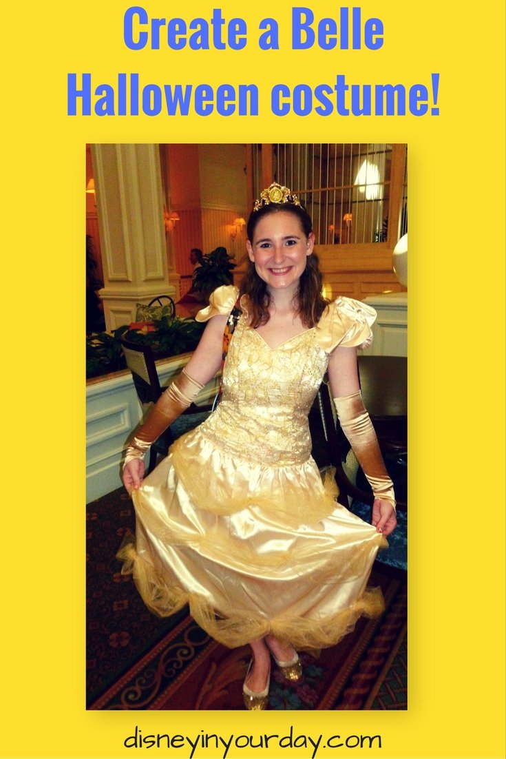 Belle Halloween costume - Disney in your Day  sc 1 st  Disney in your Day & Make your own Belle Halloween costume - Disney in your Day