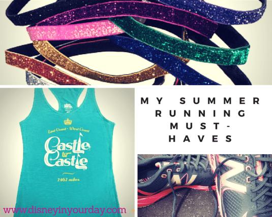 My Summer running Must-HAves 2