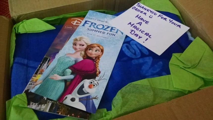 Magic Monthly Disney subscription box - Disney in your Day